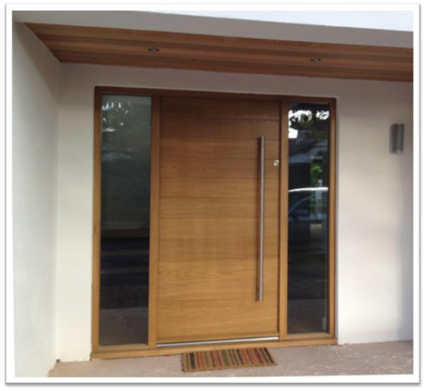 Contemporary Wood Front Door 604 x 554 · 29 kB · jpeg